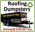 Roofing Dumpsters