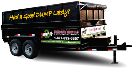 2 DUMP IT™ Dumpster Sizes: