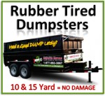 Rubber Tired Dumpsters