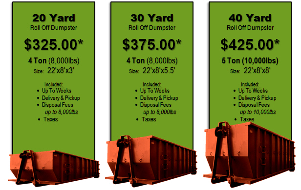 Roll-Off-Dumpster-Prices