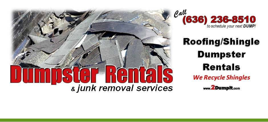 2dumpit Roofing Dumpster Rentals Roll Off Dumpster St