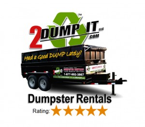 2 DUMP IT™ Dumpster Rentals | 5 Star Company