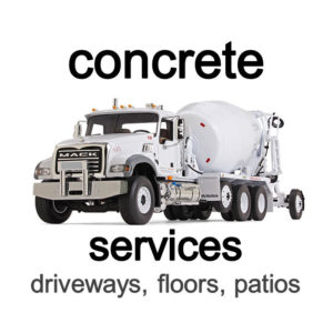 Concrete Contractor services St. Louis and St. Charles County, MO.
