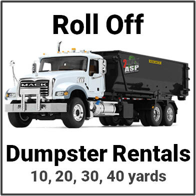 Roll Off Dumpster Rental