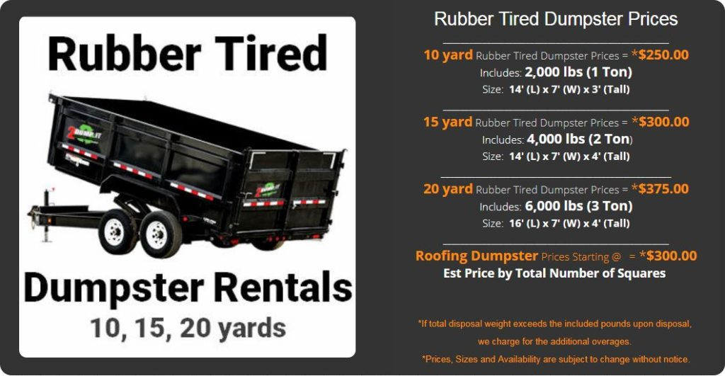 St Louis Dumpster Rental Prices